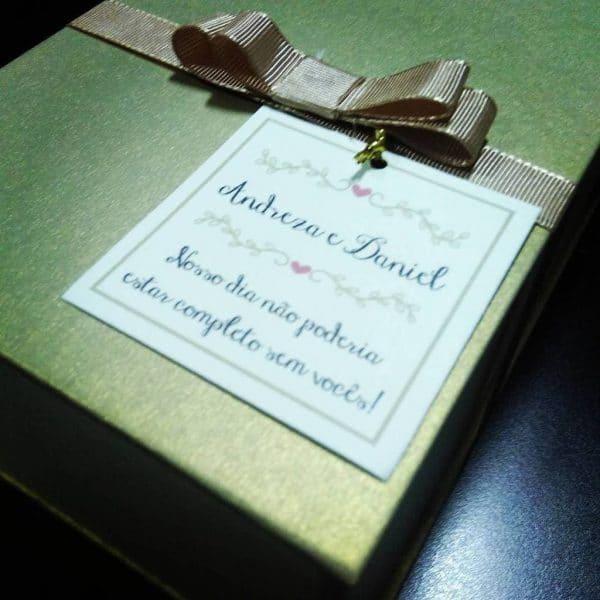 Convite dos Padrinhos