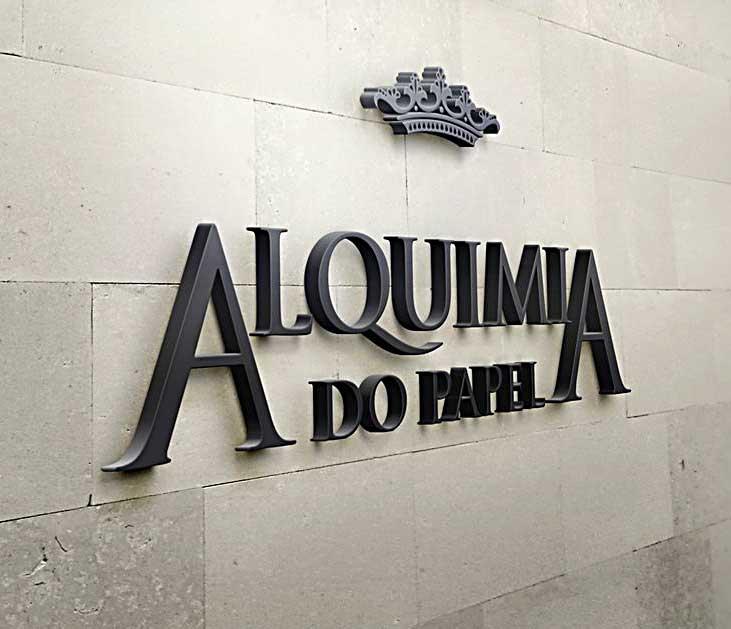 Logo Alquimia do Papel